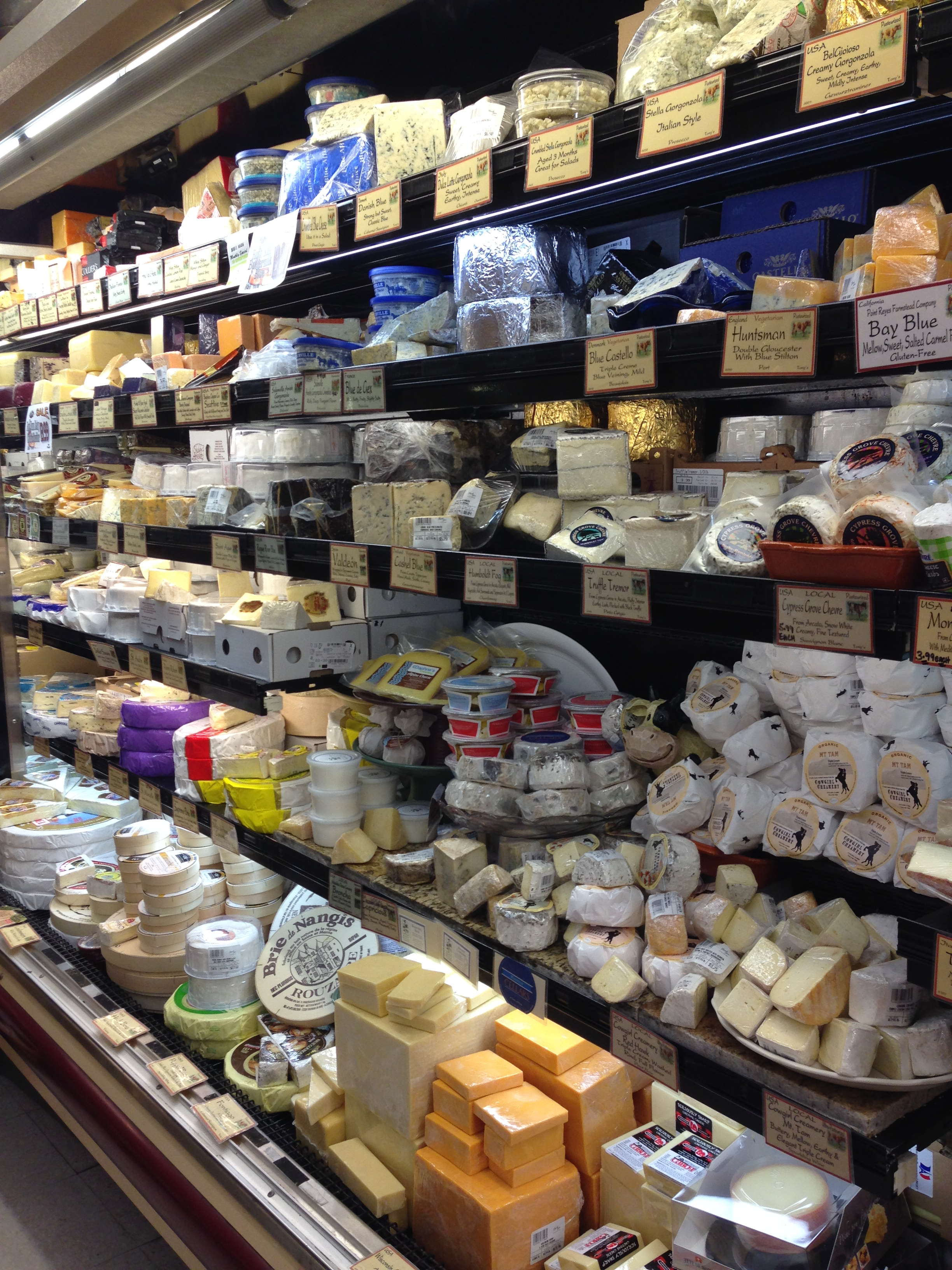 Fine cheese at CalMart